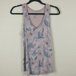American eagle soft and sexy floral tank top small